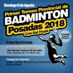 Video promocional Torneo de Badminton