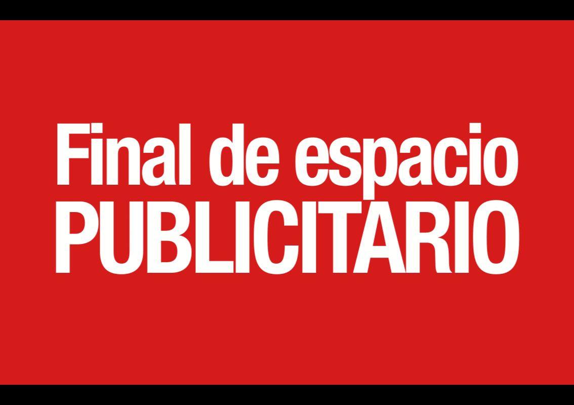Final de espacio Publicitario